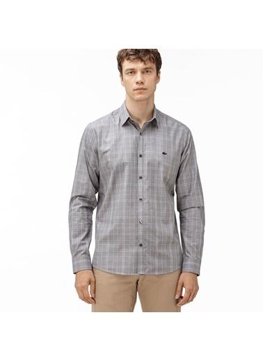 Lacoste Erkek Slim Fit Gömlek CH0172.258 Gri